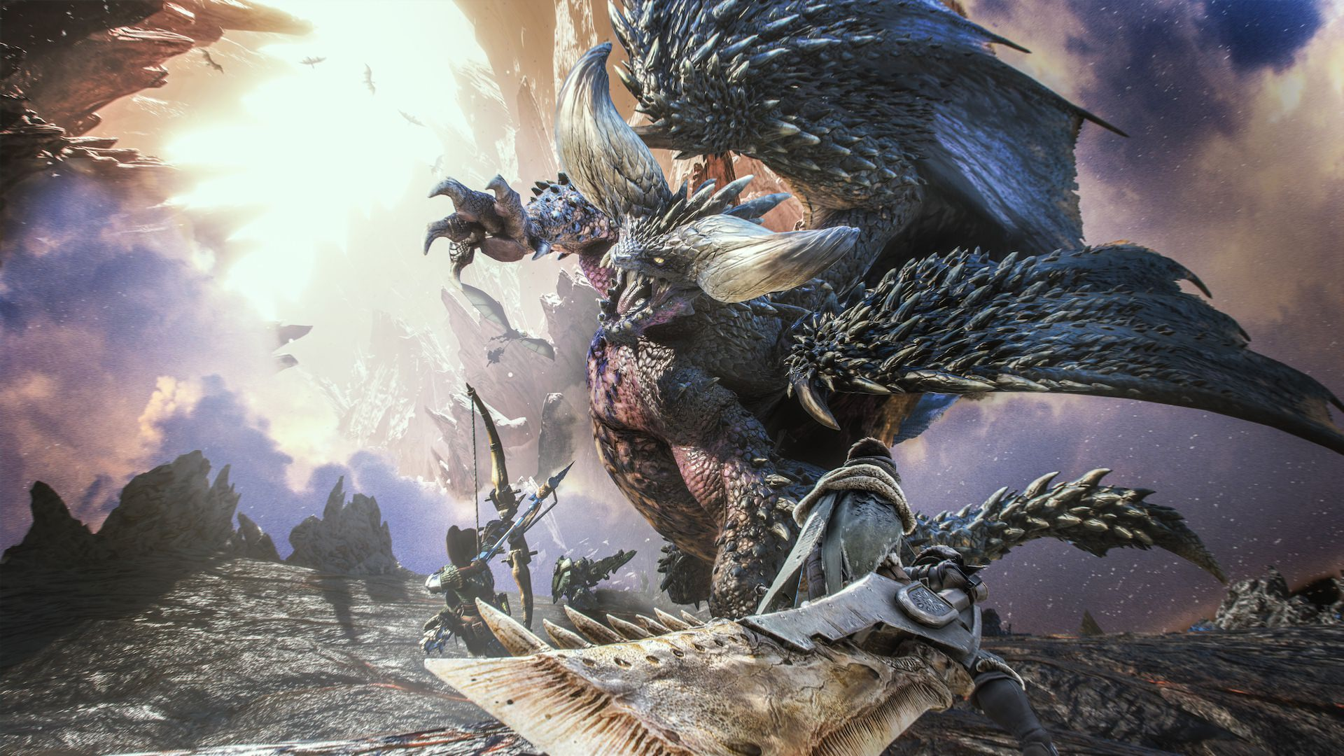 monster hunter world date de sortie