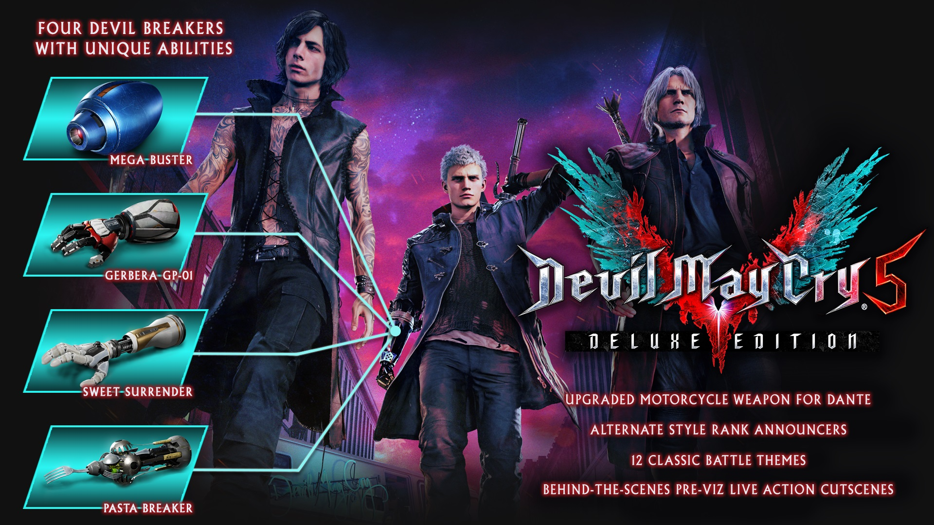 tgs 2018 devil may cry 5 trailer