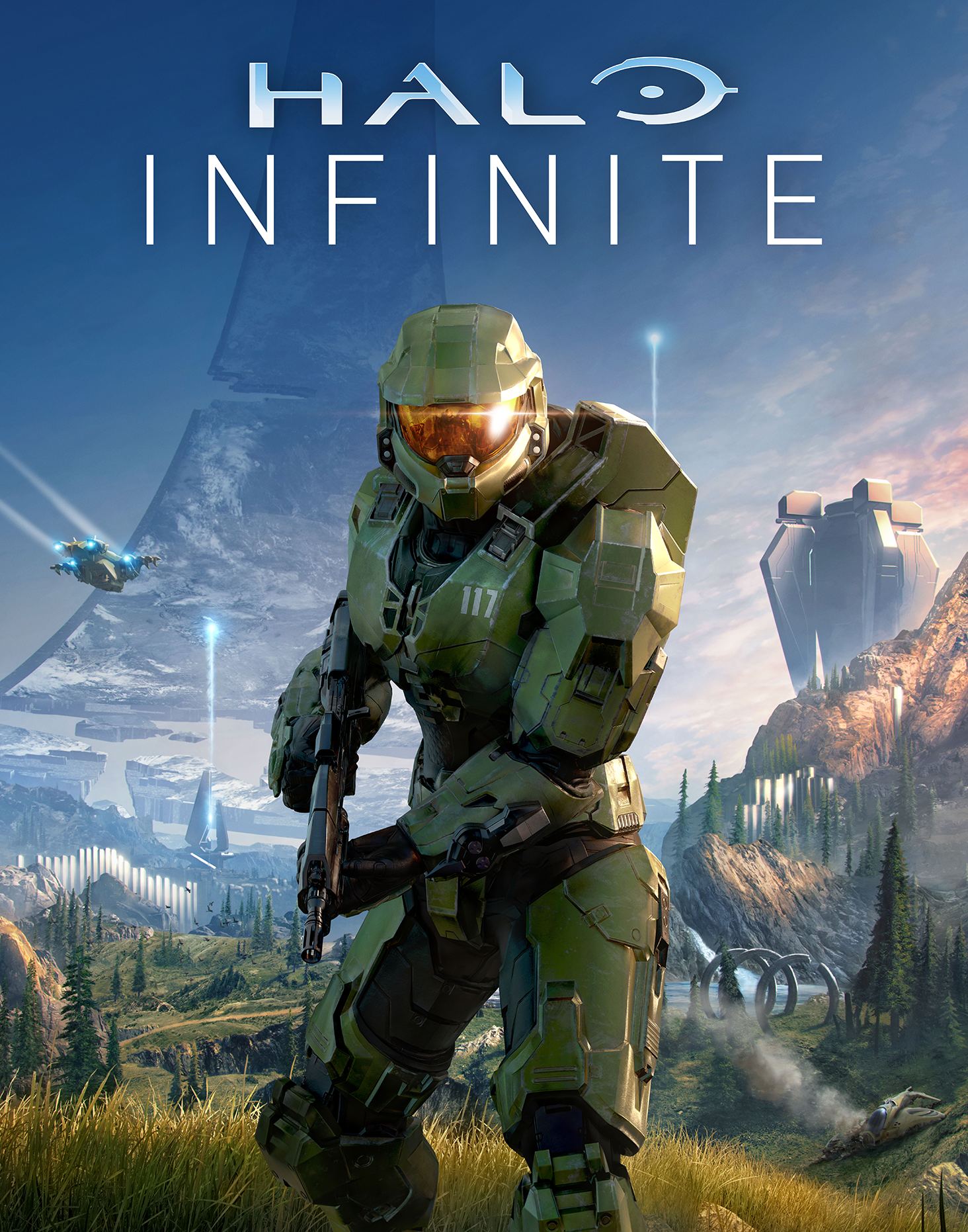 halo infninite cover gameplay open world